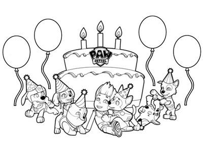День рождения Щенячего патруля