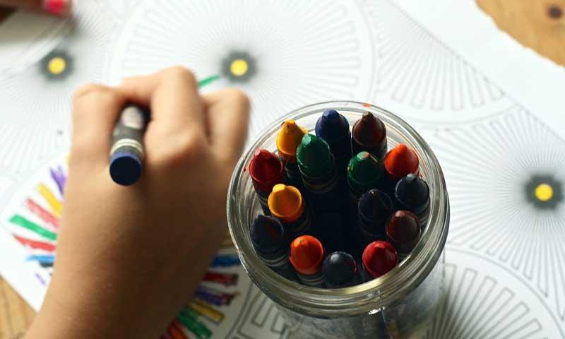 Раскраски развивают способности ребенка